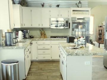 Kitchen Interior Overlay System Rocky Mountain Resurfacing, Durango Colorado