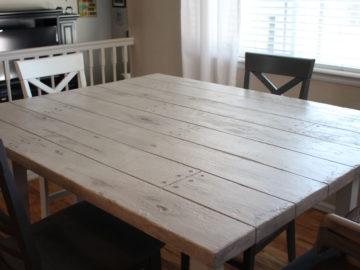 Kitchen Table Rocky Mountain Resurfacing, Durango Colorado