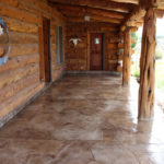 Entryway Overlay Rocky Mountain Resurfacing, Durango Colorado
