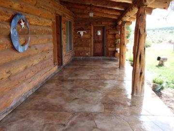 Entryway Overlay Rocky Mountain Resurfacing, Durango Colorado