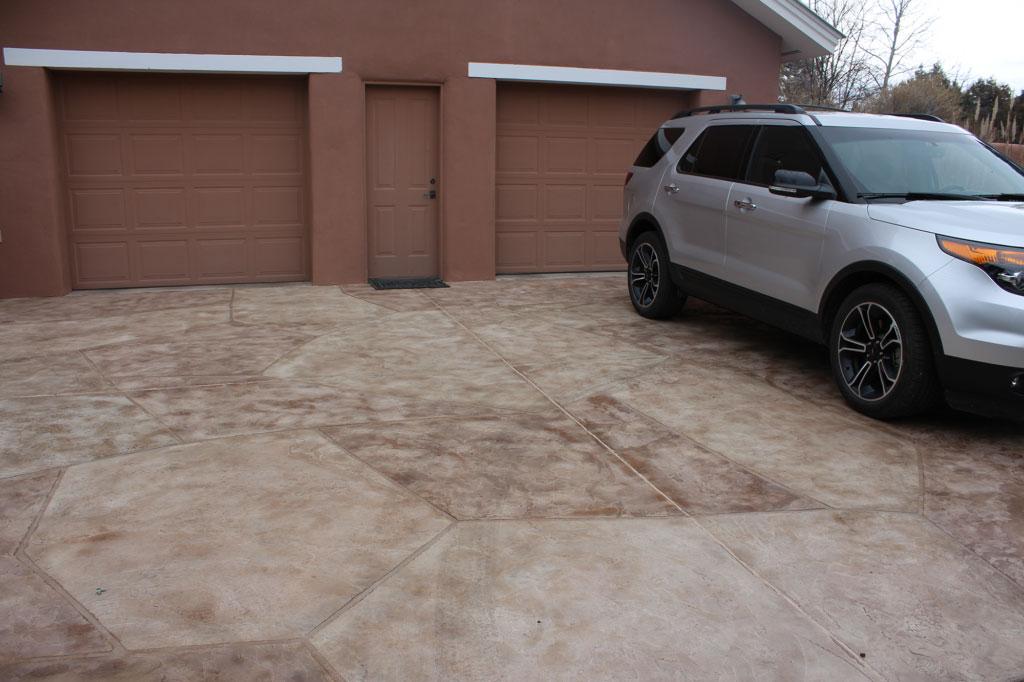 Driveways Overlay Systems Rocky Mountain Resurfacing, Durango Colorado