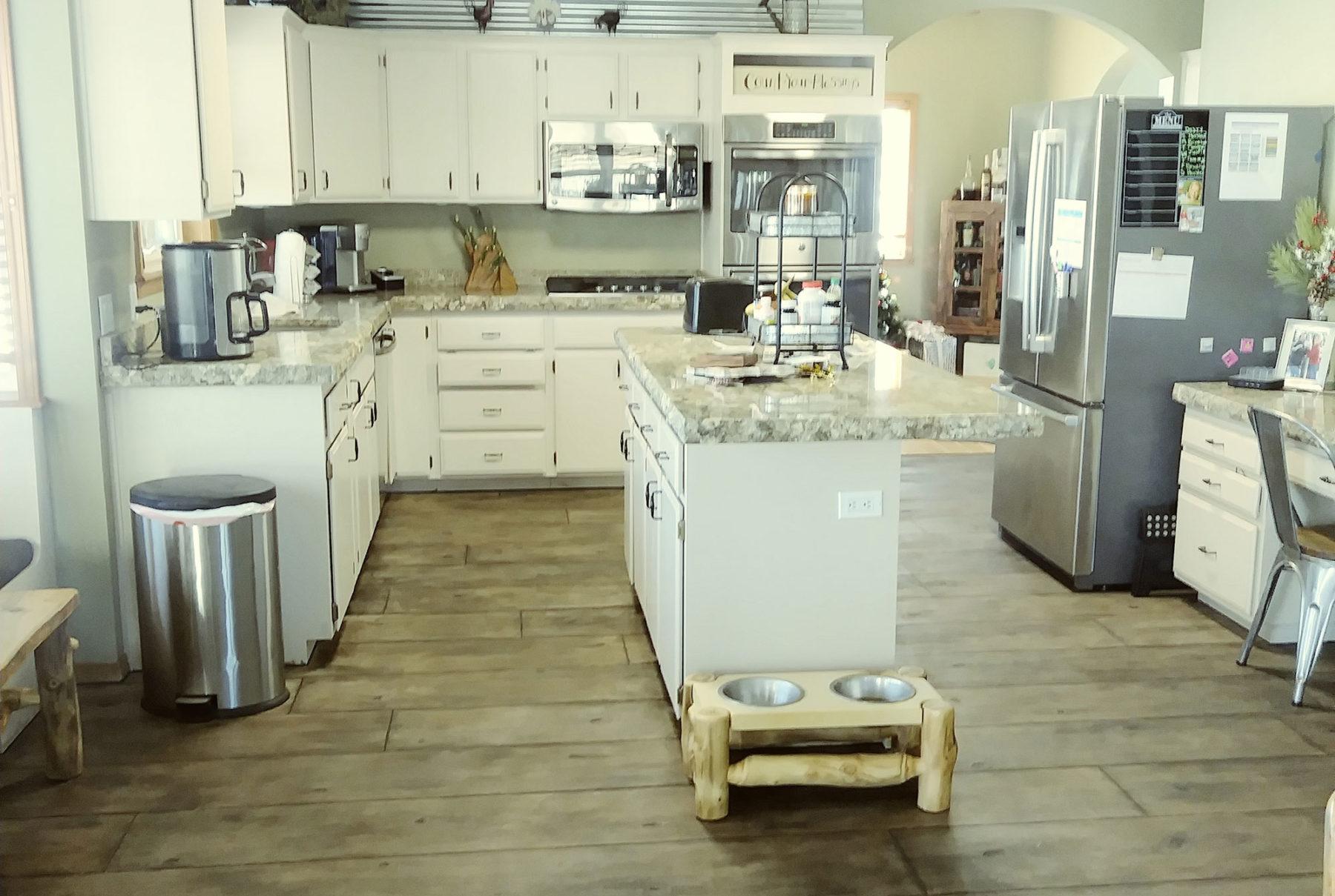 Kitchen Interior Rocky Mountain Resurfacing, Durango Colorado
